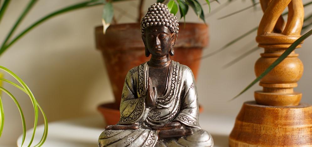 Buddha onderwijst